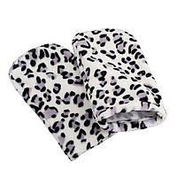 Варежки махровые для парафинотерапии Леопард, фото 1