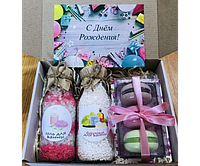 Подарок день рождение, на 8 марта, подарок на день Святого Валентина, вкусный подарочный набор для девушки,
