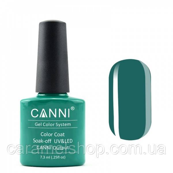Гель-лак CANNI 076 темно-изумрудный, 7,3 ml