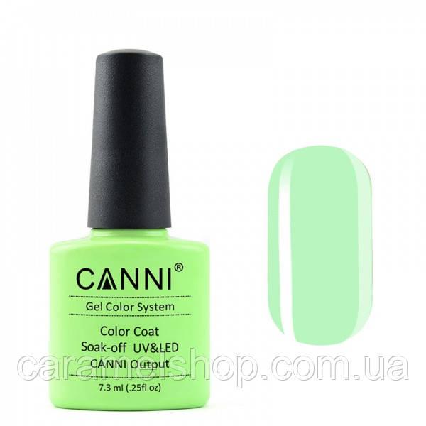 Гель-лак CANNI 082 бледно-салатовый, 7,3 ml