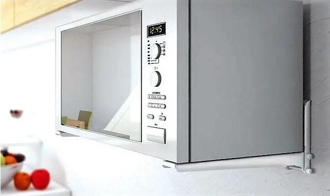Кронштейн ElectricLight MWO- 01 СВЧ серебристое