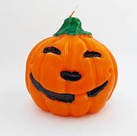 Хэллоуин декоративная свеча Тыква средняя 8,5*8,5 см