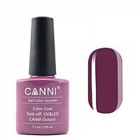 Гель-лак CANNI 087 насыщенный розово-коричневый, 7,3 ml, фото 1