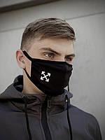 Захисна маска Off-White Чорна