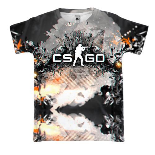 3D футболка Counter Strike - GO (2)