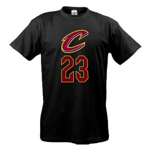 Футболка  Cleveland Cavaliers LeBron James (2)