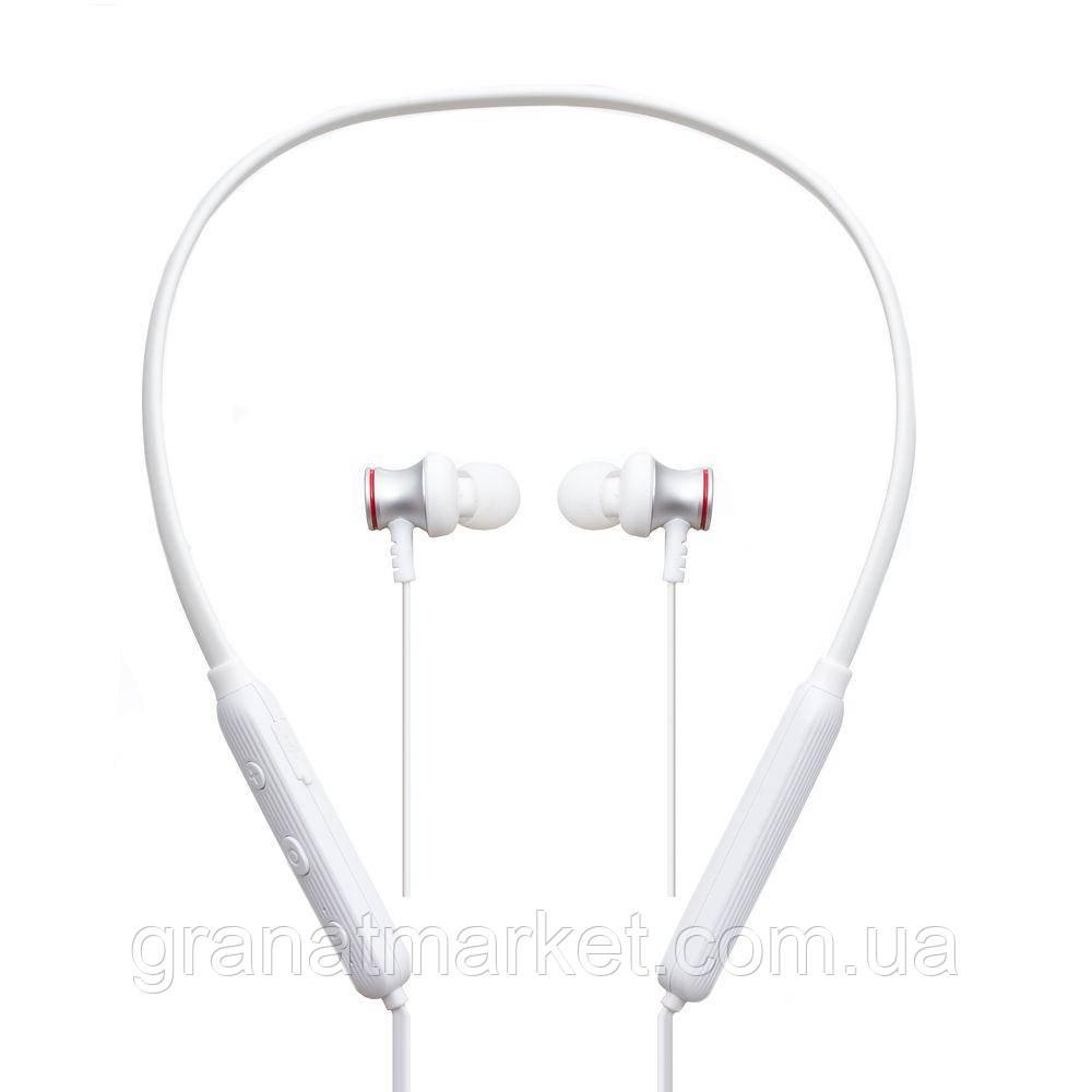 Беспроводные Bluetooth наушники Proda PD-BN100 Цвет Белый