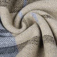 Чоловічий теплий шарф в клітку, фото 5