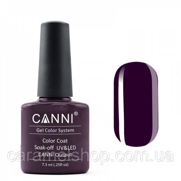 Гель-лак CANNI 100 фиолетово-черный, 7,3 ml
