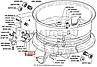53-3101027 Кольцо бортовое ГАЗ 53, ГАЗ 3307 (пр-во ГАЗ), фото 2