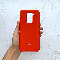 Чехол на Xiaomi Redmi Note 9 Silicone Case красный силиконовый / для сяоми редми нот 9, ксяоми ноут ксиоми