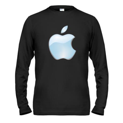Лонгслив с логотипом Apple