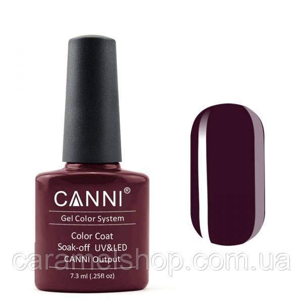 Гель-лак CANNI 102 темный коричнево-красный, 7,3 ml