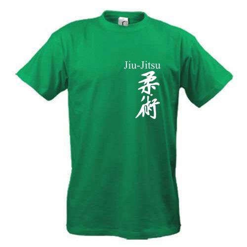 Футболка Иероглиф Jiu-Jitsu
