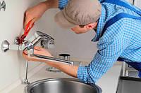Установка и замена смесителей в ванной умывальнике, кухонной мойке