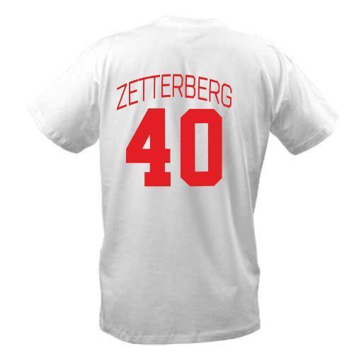 Футболка Henrik Zetterberg