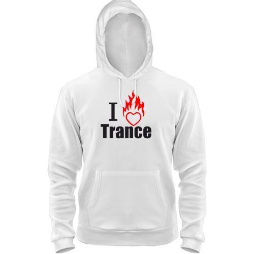 Толстовка I love Trance (3)