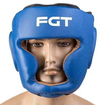 Шлем закрытый синий FGT, Cristal, Flex, размер S