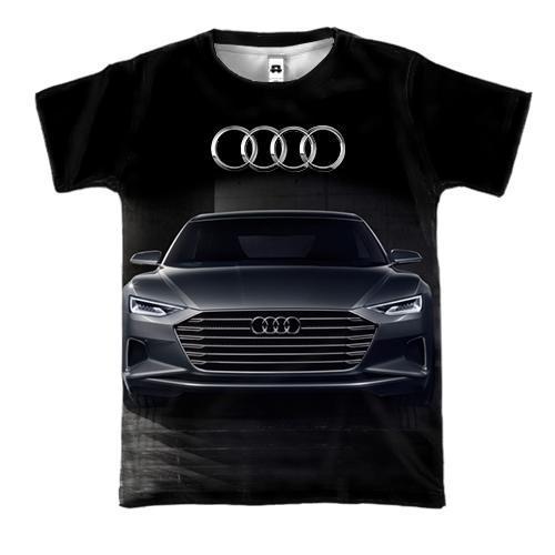 3D футболка Audi Black