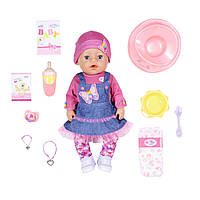 Кукла Baby Born Серии Нежные Объятия - Джинсовый Лук Baby Born Soft Touch Jeans Girl 43 см 831298