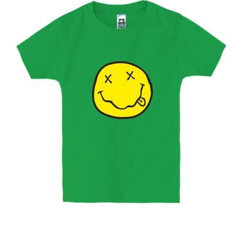 Детская футболка NIRVANA Smile