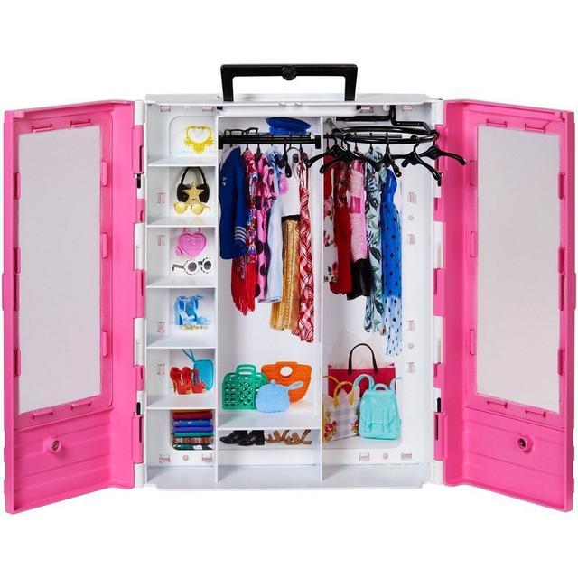 Ігровий набір Barbie Fashionistas Шафа-валіза для одягу