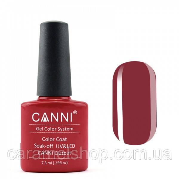 Гель-лак CANNI 106 темно-рубиновый, 7,3 ml