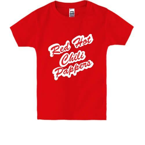 Детская футболка Red Hot Chili Peppers (пропись)