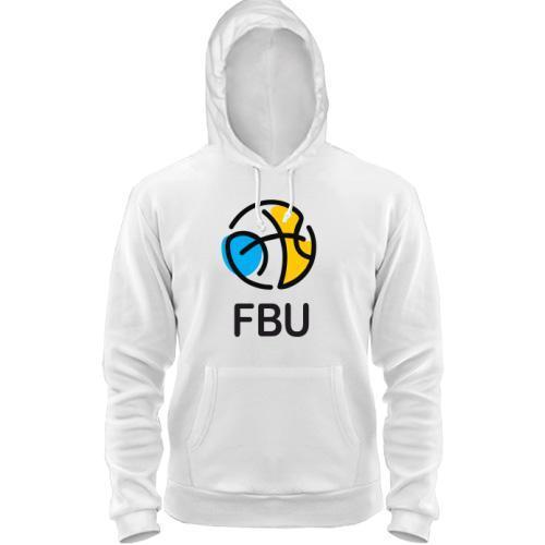 Толстовка с лого федерации баскетбола Украины