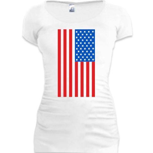 Туника с американским флагом