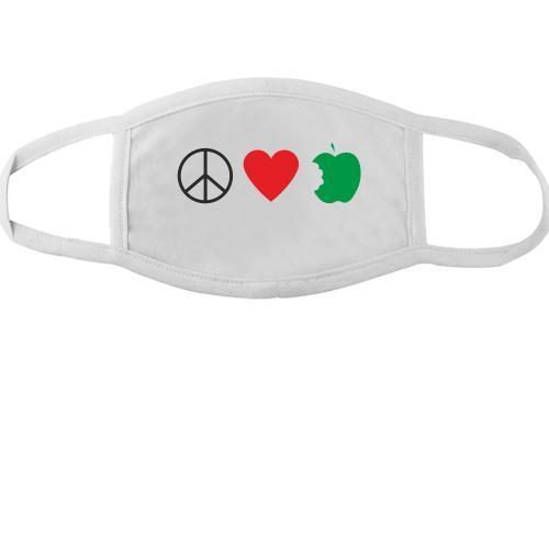 Тканинна маска для обличчя Набір хіпі