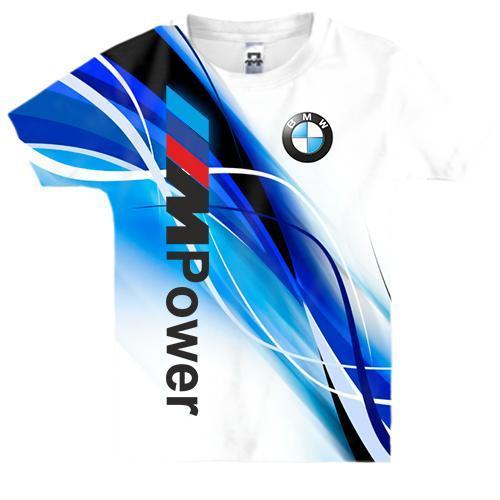 Детская 3D футболка BMW M Power
