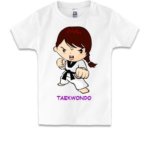 Детская футболка Taekwondo 2