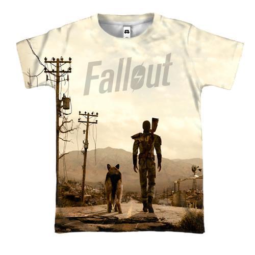 3D футболка Fallout 3