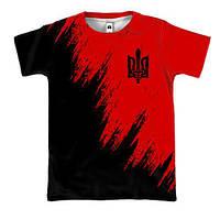 3D футболка с эмблемой ОУН