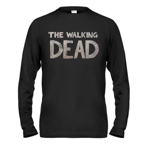 Лонгслив с надписью The Walking Dead
