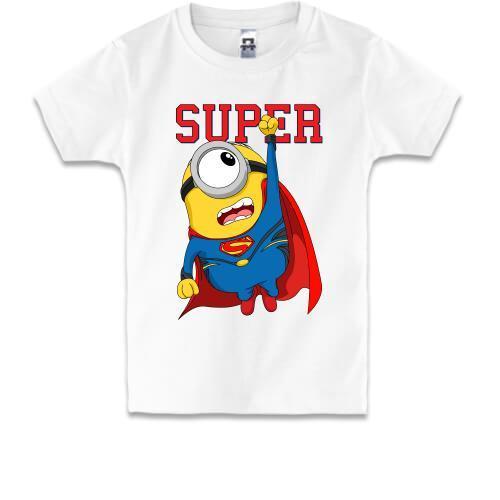 Детская футболка Супер миньон (мальчик)