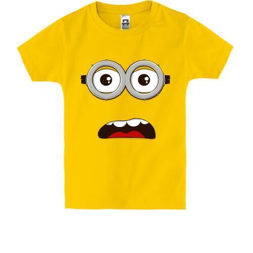 Детская футболка Глаза миньона (2)