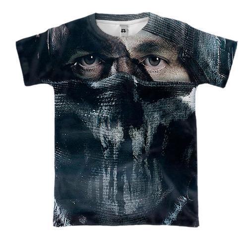 3D футболка Call of Duty - Ghost