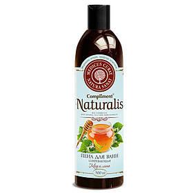 Піна для ванн зігріває «Мед і липа» Compliment Naturalis 500 мл.