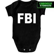 Детское боди FBI