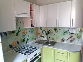 Скинали с изображением еды - монтаж фартука  в городе Каменское Днепропетровская область 1
