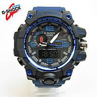 Годинник Casio G-Shock GWG-1000 Black/Blue NEW. Репліка ТОП якості!