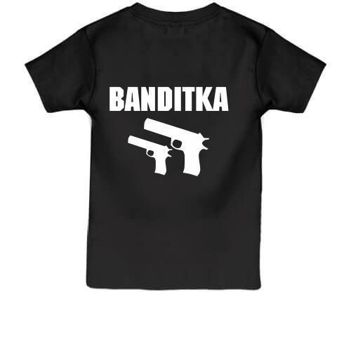 Детская футболка Бандитка