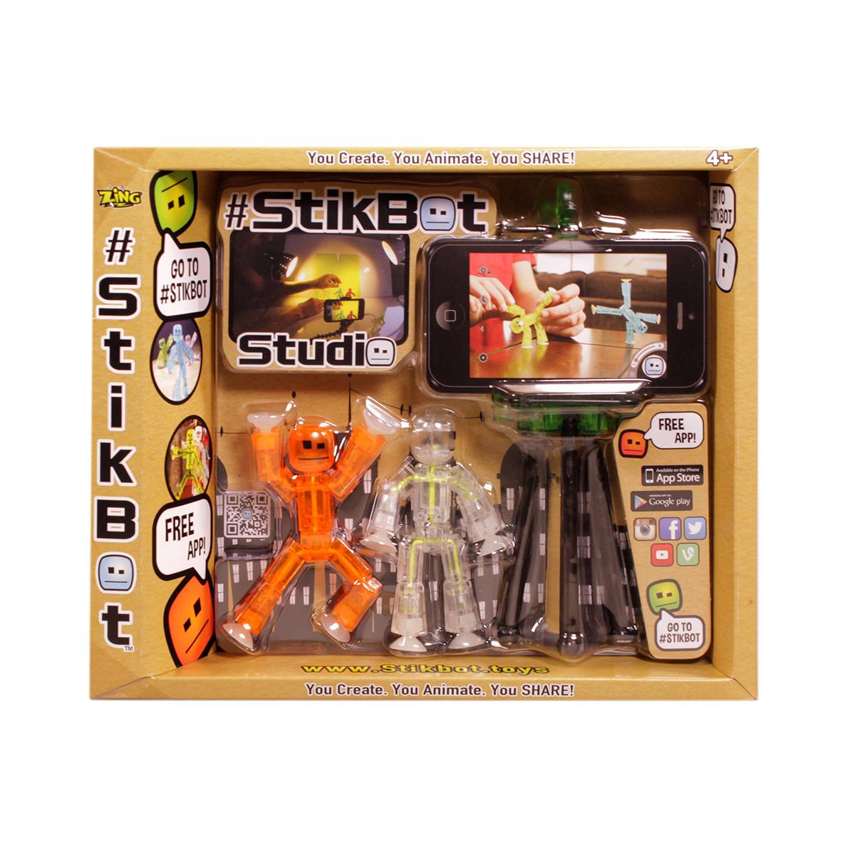 Ігровий набір для анімаційного творчості STIKBOT S1 СТУДІЯ