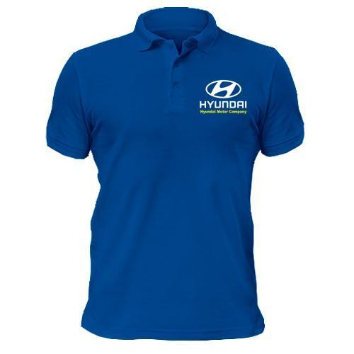 Футболка поло Hyundai