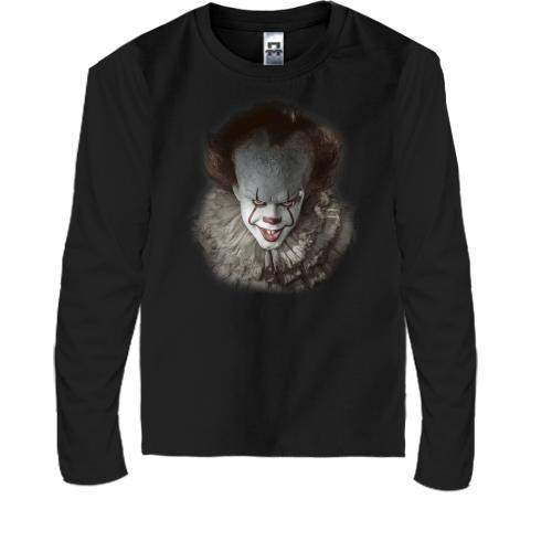 """Детская футболка с длинным рукавом с клоуном из фильма """"Оно"""" (2)"""