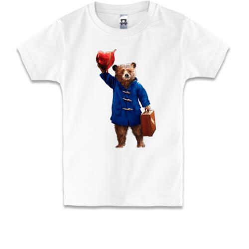 Детская футболка с Паддингтоном