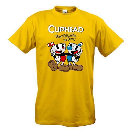 Футболка Cuphead