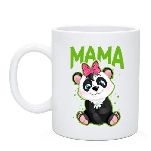 Чашка с пандой (мама)
